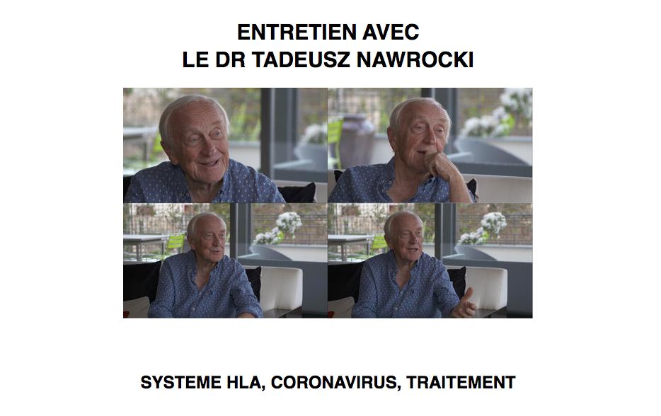 Interview Dr Thadée Nawrocki Coronavirus 21 mars 2020